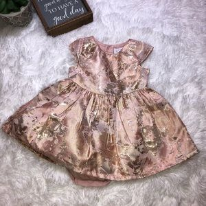 NWOT Metallic Dress & Shrug
